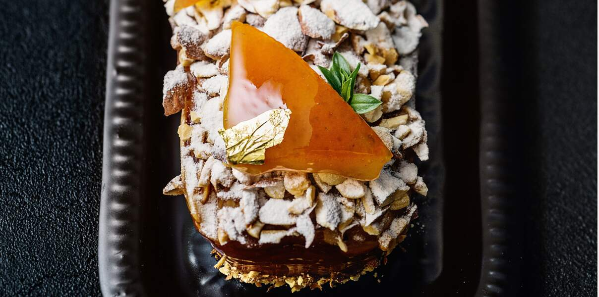 Le cake oranges et amandes de Nicolas Bernardé
