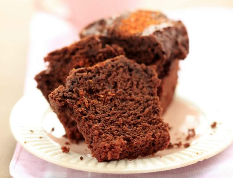 Gâteau chocolat noisettes cannelle