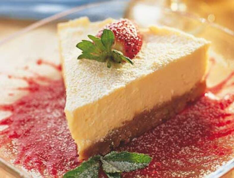 Cheesecake au citron à l'anglaise