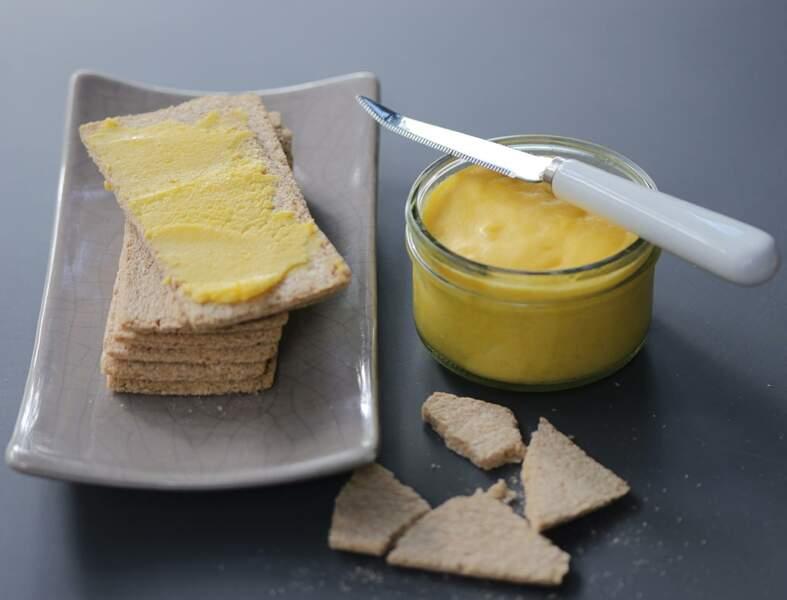 Beurre de mangue et citron vert