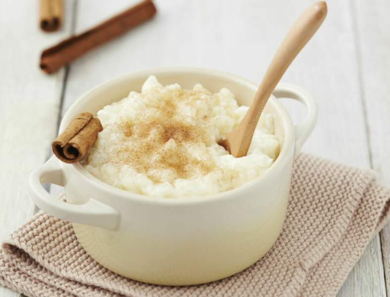 Riz au lait de coco, mangue et gingembre