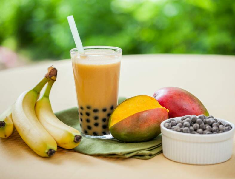 Bubble-tea à la mangue