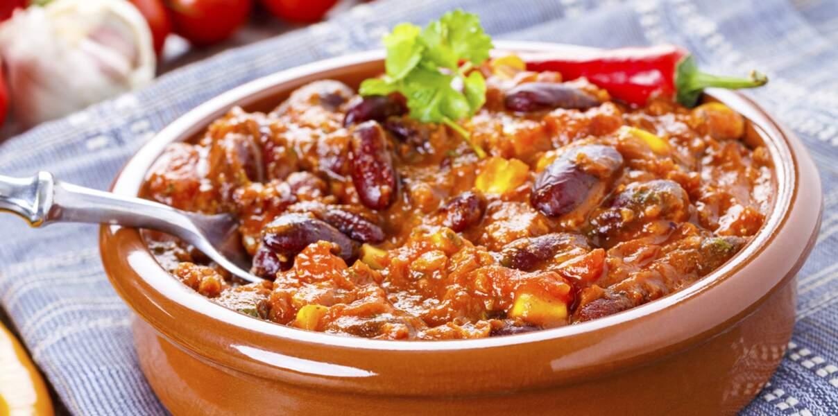 Chili con carne délicieux