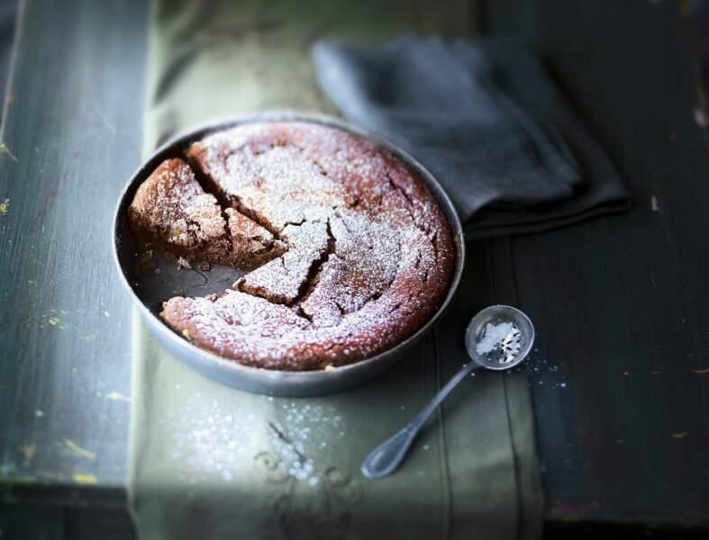Gâteau marrons - chocolat