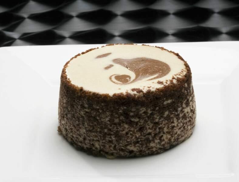 Crème chocolat-café au lait d'amandes pour diabétiques