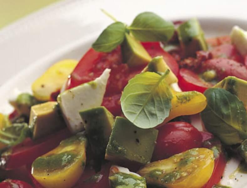 salade italienne au pesto