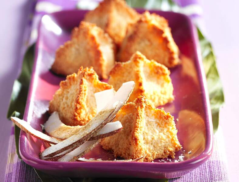 Rochers coco-gingembre
