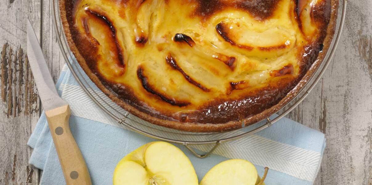 Tarte normande aux pommes facile