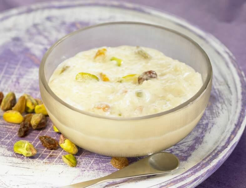 Riz au lait à l'indienne