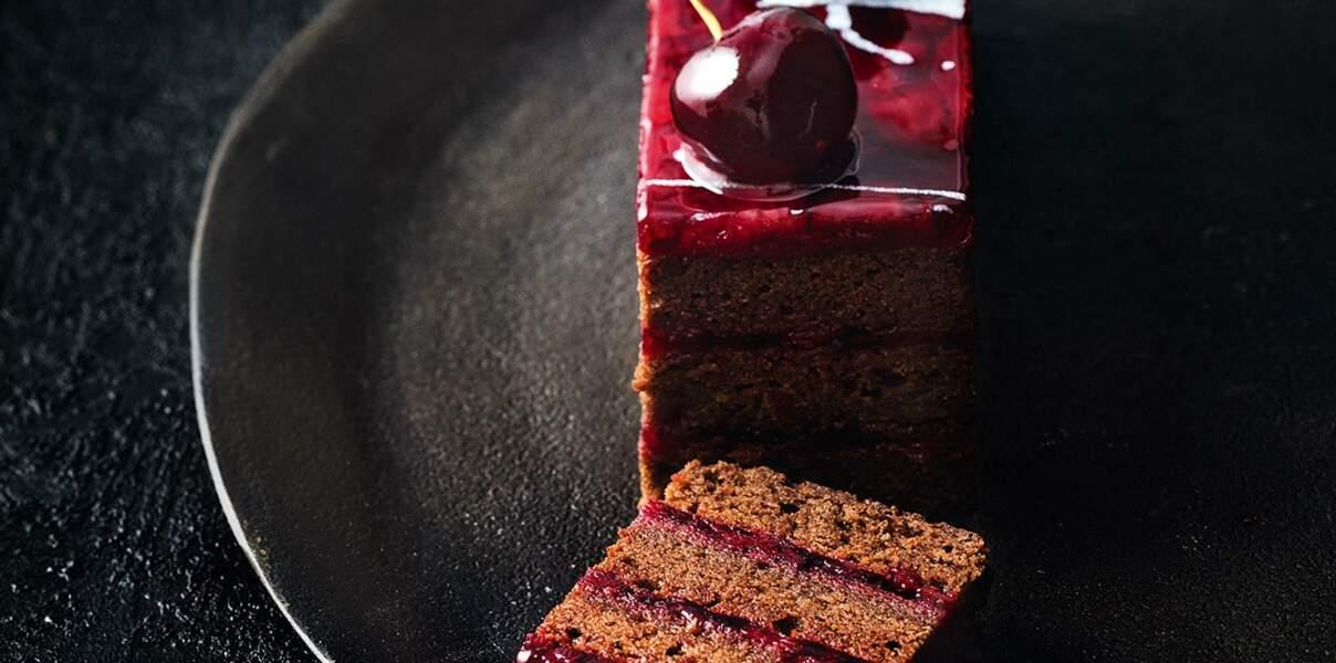 """Le Cake Forêt-Noire """"Black Jack"""" de Nicolas Bernardé"""