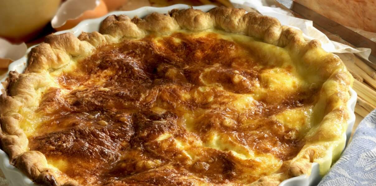 Picardie : la tarte au Maroilles