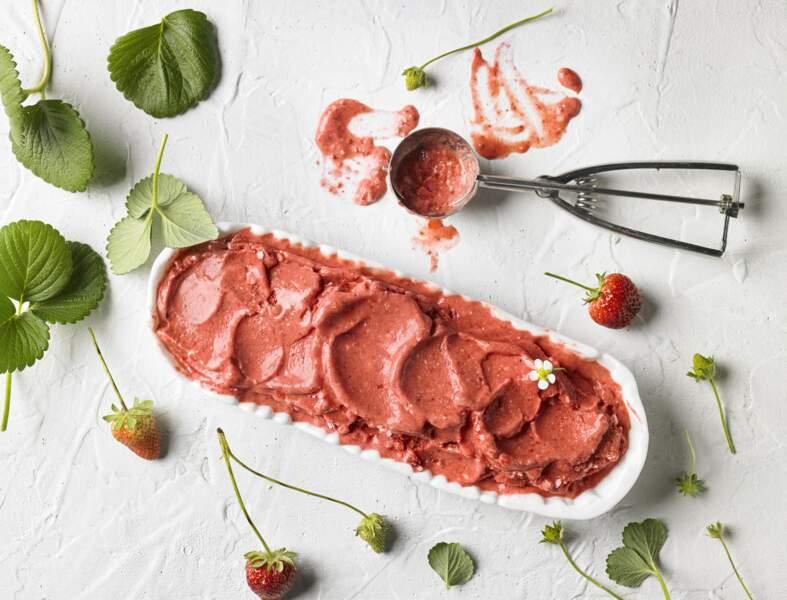 Glace à la fraise au Thermomix®