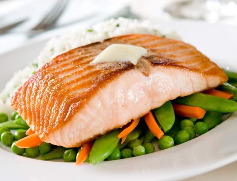 Pavés de saumon aux navets