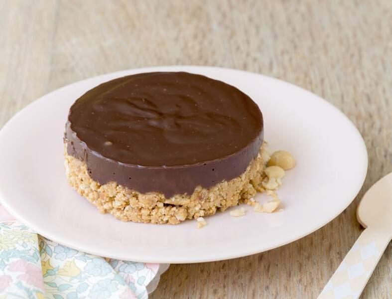 Tarte chocolat cacahuètes façon Trish de Laura Annaert