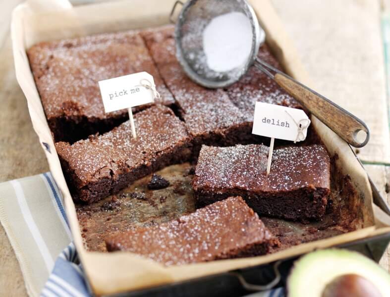 Brownies à l'avocat Hass du Pérou