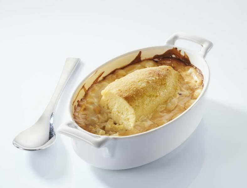 Quenelles de brochet sauce aigre douce fondue de poireaux