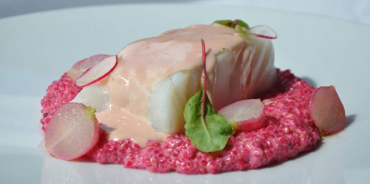 Dos de cabillaud et risotto de quinoa du River Café