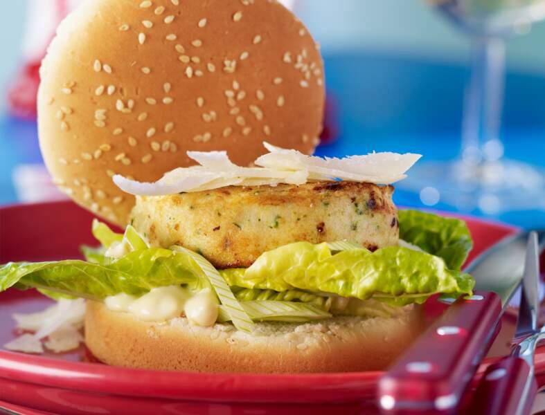 César burger au poulet