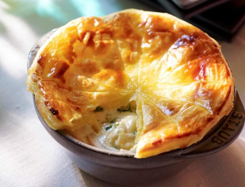 Tourte normande au camembert