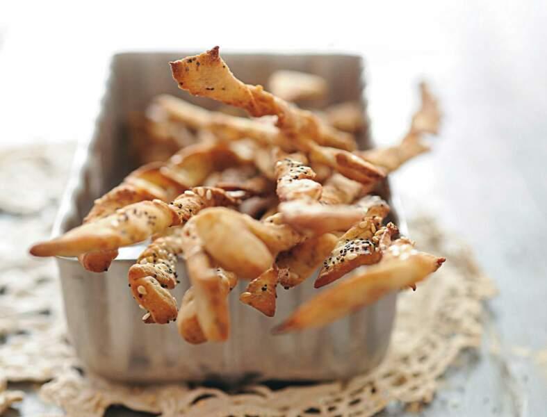 Gressins sucrés aux épices douces