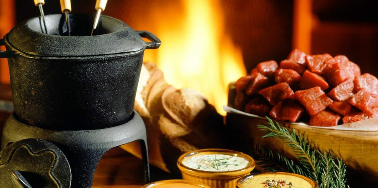 Bourgogne : la fondue bourguignonne