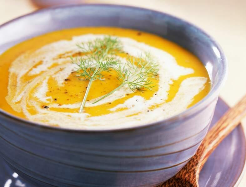 Cappuccino fenouil-carotte