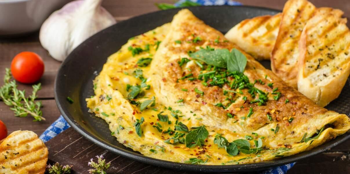 Omelette piquante