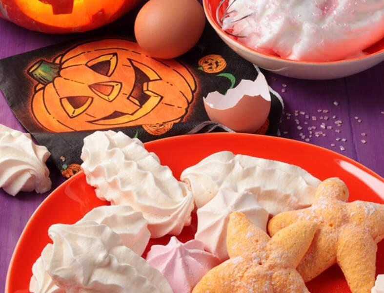 Meringues d'Halloween