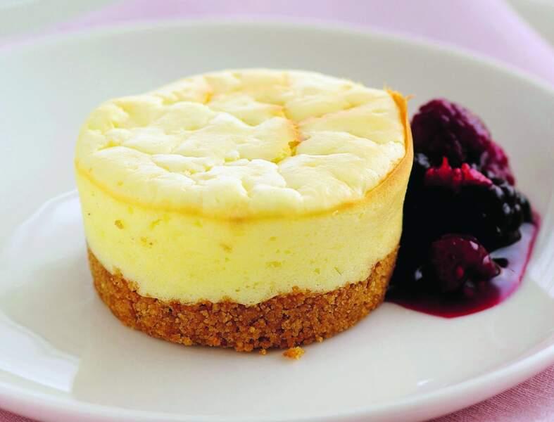 Cheesecakes au chocolat blanc