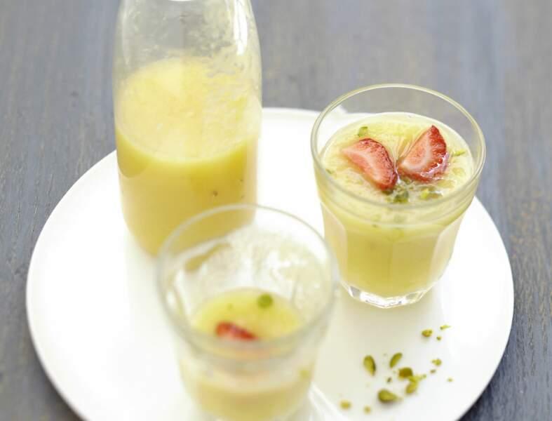 Gaspacho d'ananas