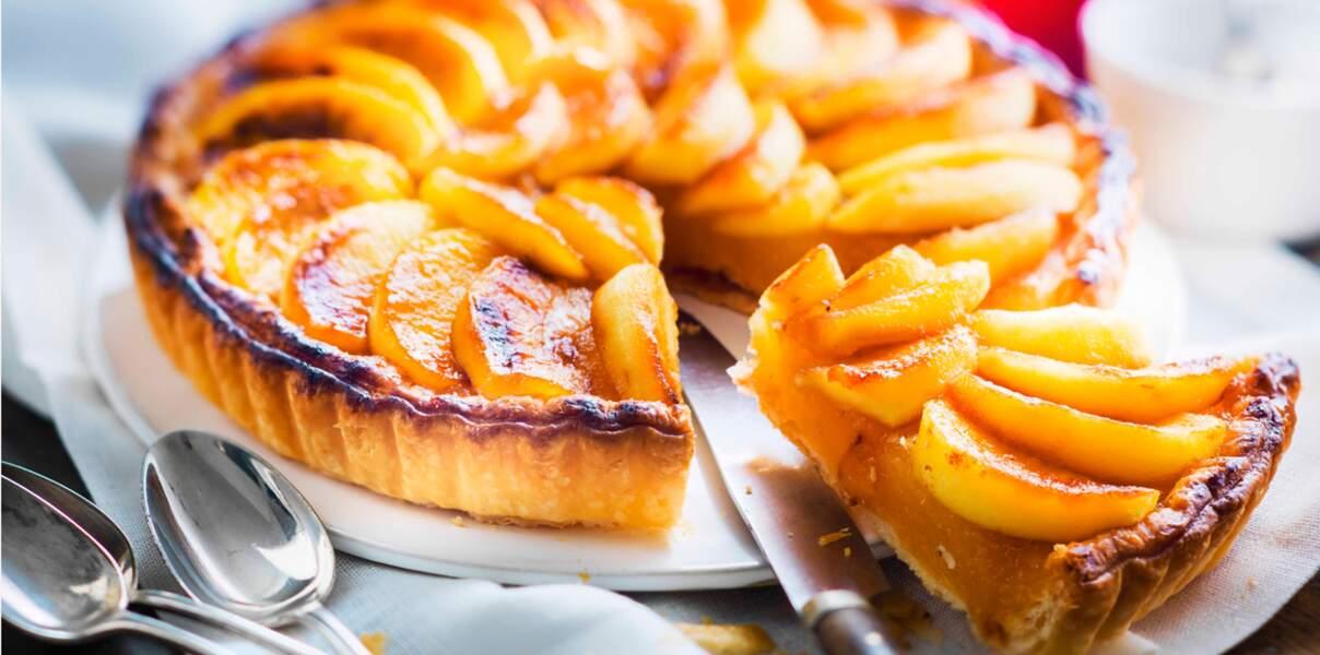 Petite tarte aux pommes facile