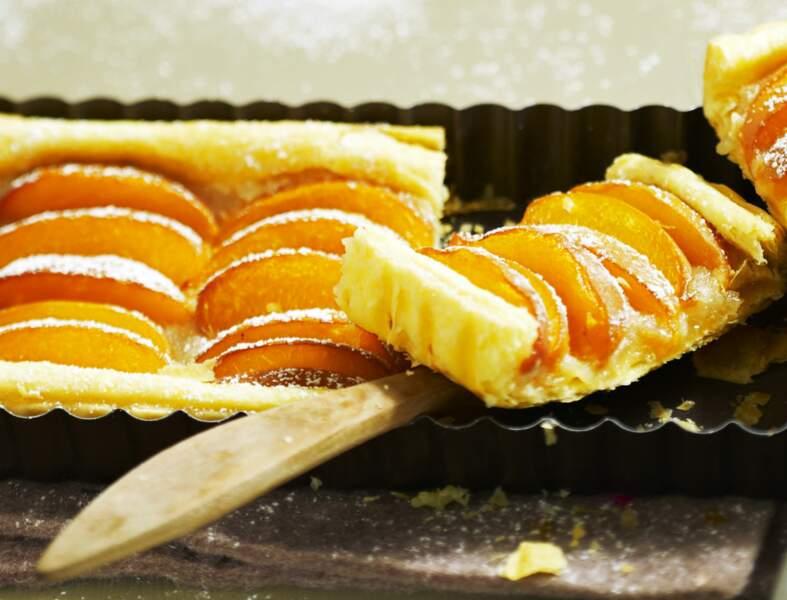Tarte à l'abricot rapide et inratable