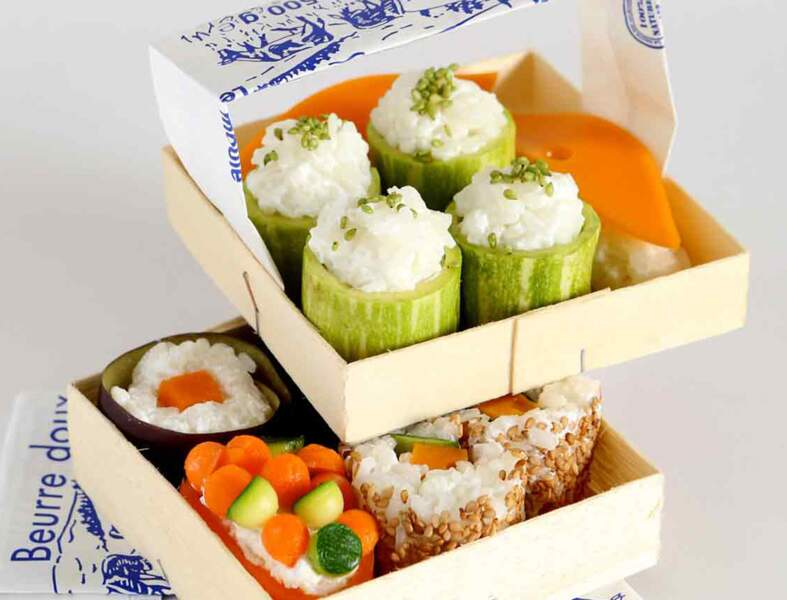 Makis et sushis du fromager
