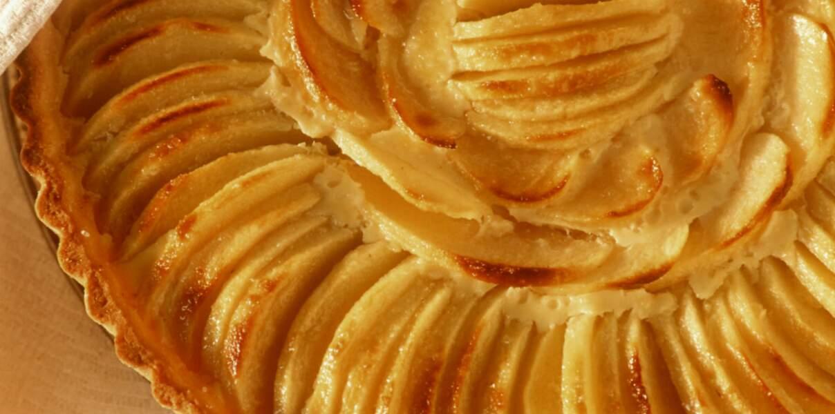 Tarte aux pommes caramélisée