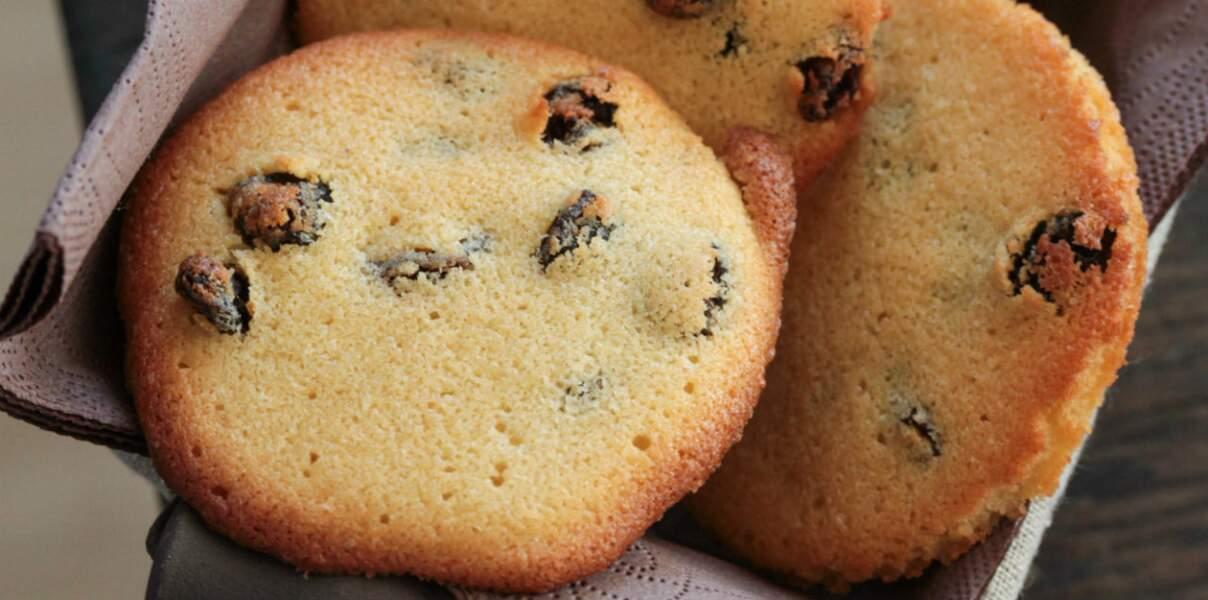 Biscuits aux raisins secs et au miel