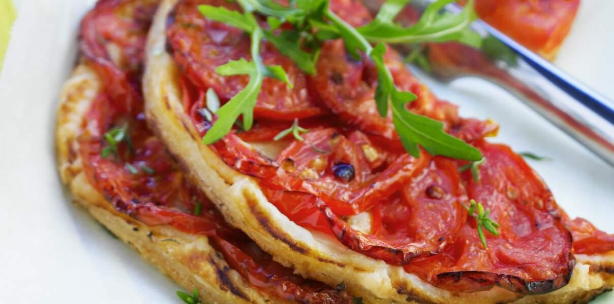 Tarte fin tomates