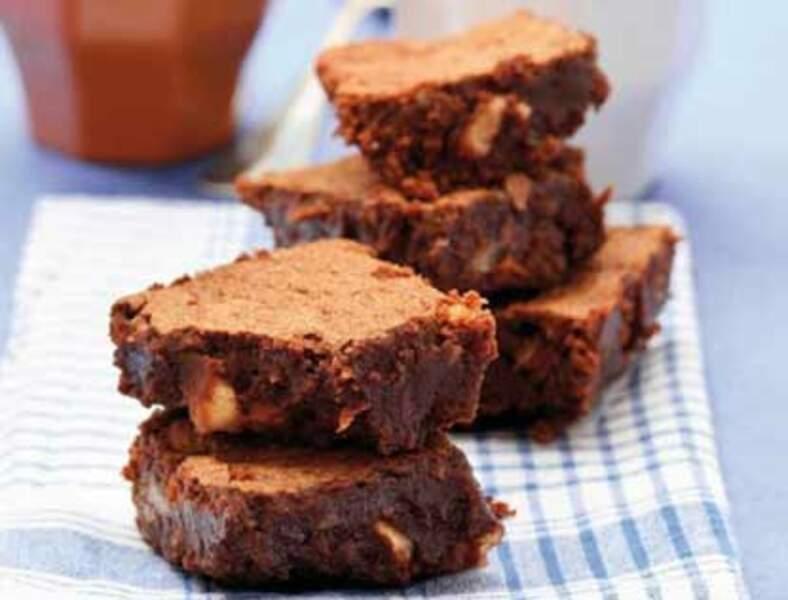 Brownies chocolat noisettes