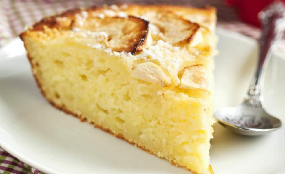 Gâteau moelleux aux pommes et cannelle