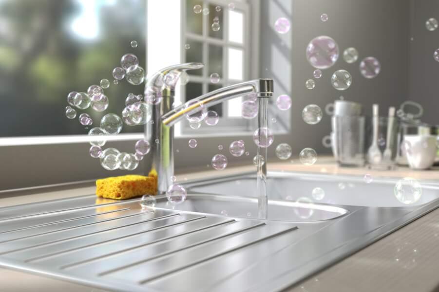 Comment nettoyer un évier en inox ?