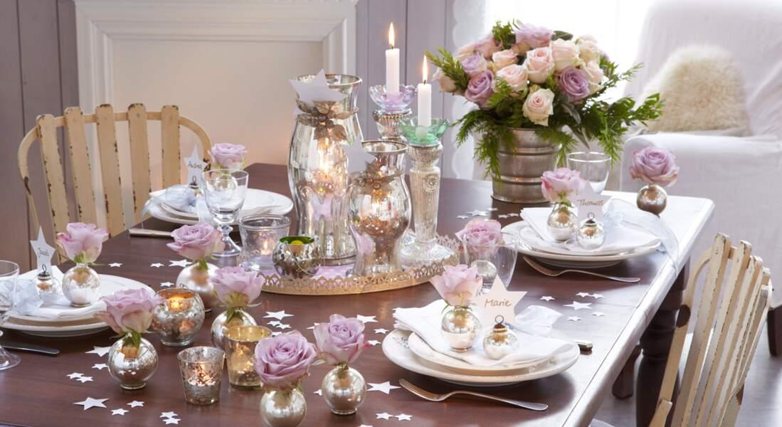 Un Noël romantique et pastel