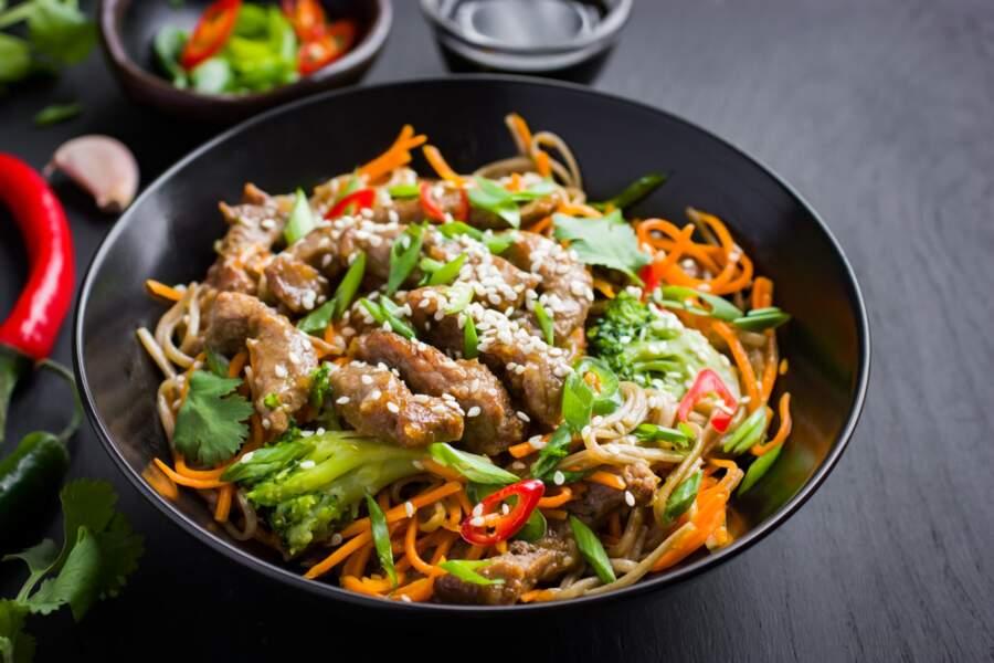 Salade tiède de brocoli au Thermomix®