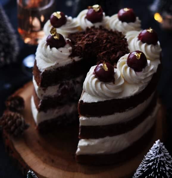 Dessert de Noël : la forêt noire traditionnelle