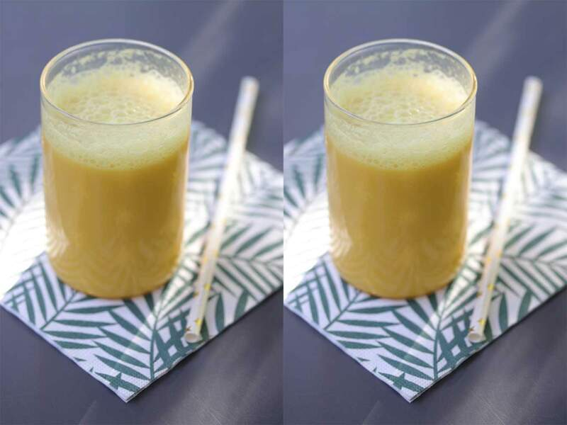 Golden latte (boisson végétale au curcuma et gingembre)