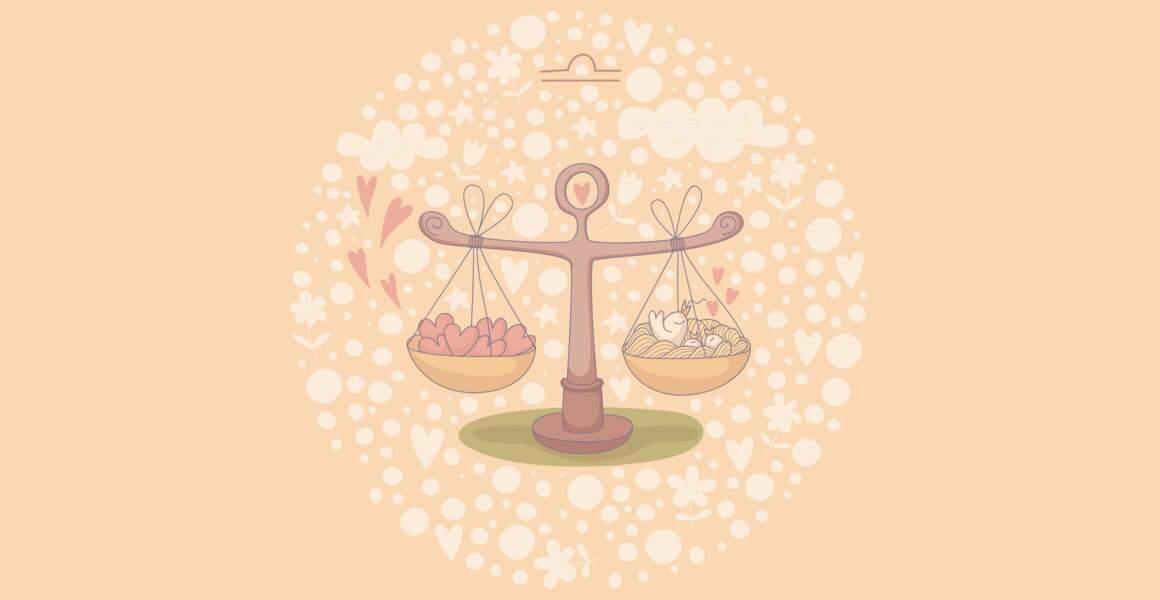 Compatibilité amoureuse pour la Balance