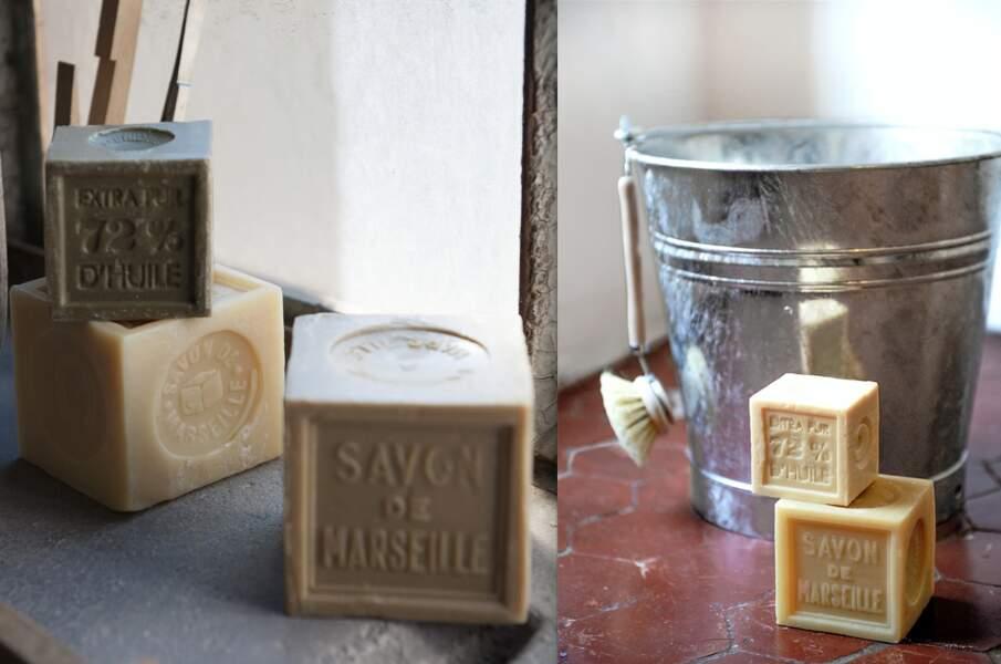Le savon de Marseille, toutes ses utilisations dans la maison