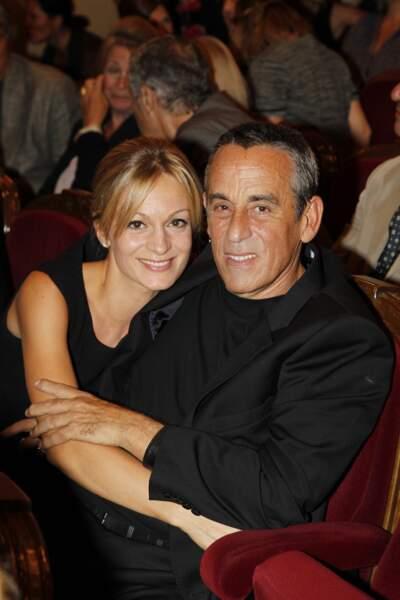 Thierry Ardisson et Audrey Crepo-Mara au théâtre Edouard VIII à Paris (2012)