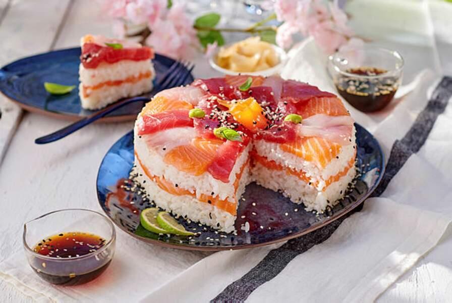 Sushi cake XXL
