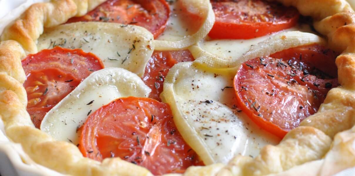 Chaussée aux Moines en feuilleté à la tomate