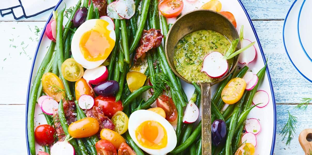 Salade bistrotaux haricots verts