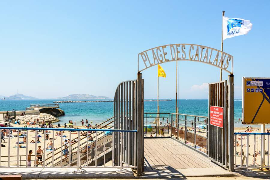 #1 Plage des Catalans, Marseille